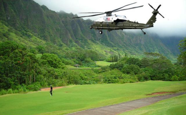 Obama-Golf-Koolau